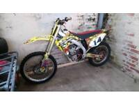 Suzuki RMZ 450 fuel injected mx bike