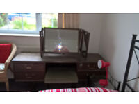 G Plan dressing table and stool