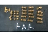 Small Bore Compression fittings - mixed
