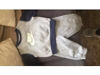 Nike tracksuit 9-12 months