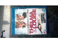 THELMA & LOUISE BLURAY REGION B BRAND NEW UNRELEASED IN THE UK MINT