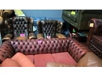 vintage chesterfield sofas reduced to clear