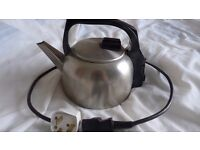 Old fashioned and reliable, vintage Russell Hobbs kettle
