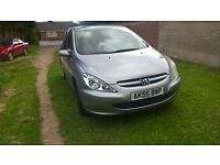 05 Peugeot 307 low mileage clean car drives well Mot 23.10 priced to sell at £425 p/x considered
