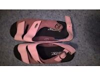 Two-tone pink Hotter sandals - size 5 - new