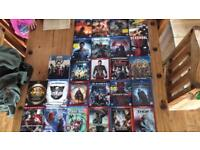 Super hero bundle 3d marvel dc