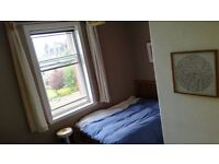 Double room in charming, bright, peaceful Joppa/Portobello flat
