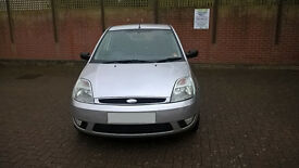 2004 FORD FIESTA 1.4 PETROL TAX FEBRUARY MOT APRIL SERVICE HISTORY