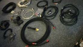 TV and audio leads