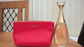 J'ADORE VOILE DE PARFUM-DIOR & GIVENCHY MAKE-UP BAG
