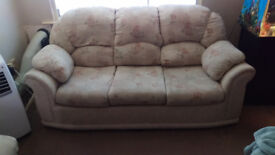 For sale (Collection Only) 3 Piece Sofa, 3 Seat Sofa and 2 Armchairs