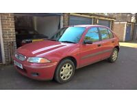 1996 Rover 214 - MoT June 2017 - £175