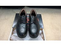 Mens steel toe cap brogue shoes size 8 (42)
