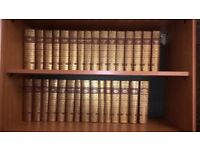 Charles Dickens the works complete set of 31 hardback books