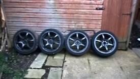 full set of wheels