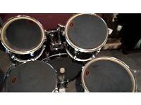 Drum silencers + practice pad