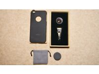 AUKEY Wide Angle Lens 0.63x with 5.5 Inch 18 MM Clip-On Made of Optical Glass