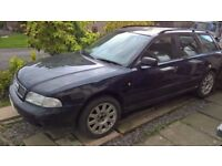 Audi A4 Avant SE B5 1.9tdi breaking for spares