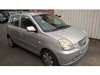 Kia Picanto 1100 cc only 36500 miles 5 Dr MOT expires 20/09/2017 service history 2 Keys P/x to clear