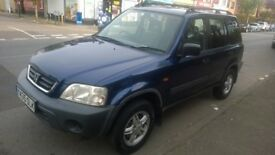 2001 Honda CR-V 2.0 petrol, Manual Gearbox & Blue color and bellow 116000 miles
