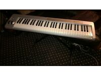 M-Audio Keystation 61ES midi Keyboard