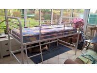 Girls Midi Sleeper Bed with Mattress