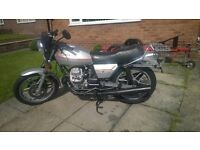 Motoguzzi V50 Mk3, recently fully restored, one previous owner, dry miles only.