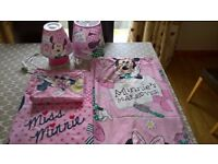 Minnie Mouse Bed Set