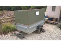 Very sturdy 6 x 4 boxed in Trailer