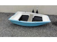 6ft tender dinghy row boat