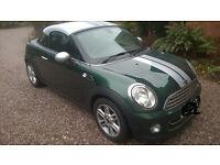 Mini Cooper Coupe 1600 semi Automatic British racing green