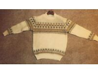 Genuine Icesheep Icelandic Wool Sweater Mens Lge.