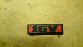 Mk2 golf jetta 16v badge