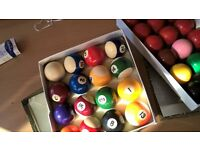Snooker/Pool balls