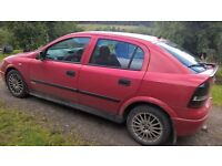 astra sxi, 1.6 petrol for sale