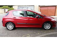 2009 Peugeot 308 1.6 HDi Verve 5dr Fully HPI Clear @07445775115@ 07725982426@