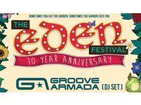 "Eden 10th yr Festival. ""Tier 2"" Weekend Tickets"