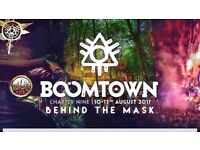Boomtown Festival Entry x2 + Sheffield Return Coach x2 + Bell Tent Accommodation (fits 4)