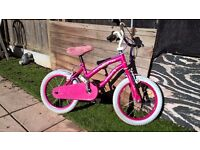 Girls Bike Polly 16 ideal for 5 to 7 year olds