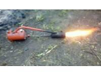 Garden flame gun