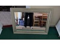 silver surround mirror