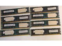 Hynix 64GB (8x 8GB) RAM 2RX4 PC3-12800R DDR3 1600Mhz ECC Server REG Memory