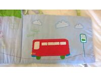 Boys Mothercare Beep Beep Nursery Set
