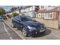 FOR SALE 2004 BMW 525D 6 SPEED MANUAL DIESEL BLUE GOOD RUNNER LEATHER INTERIOR,LOW MILEAGE FOR AGE.