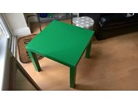 Ikea Lack small green coffee side table, as new 2 months old