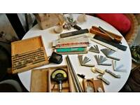 Job lots vintage hand tools precision