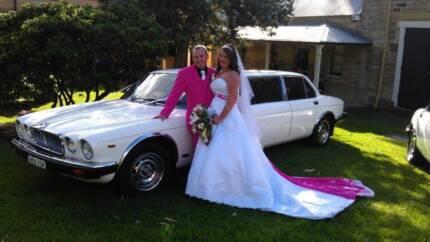 Stretched Jaguar Wedding Car