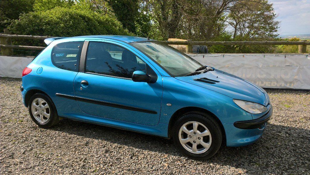 peugeot 206 1 4 w reg 2000 in holsworthy devon gumtree. Black Bedroom Furniture Sets. Home Design Ideas