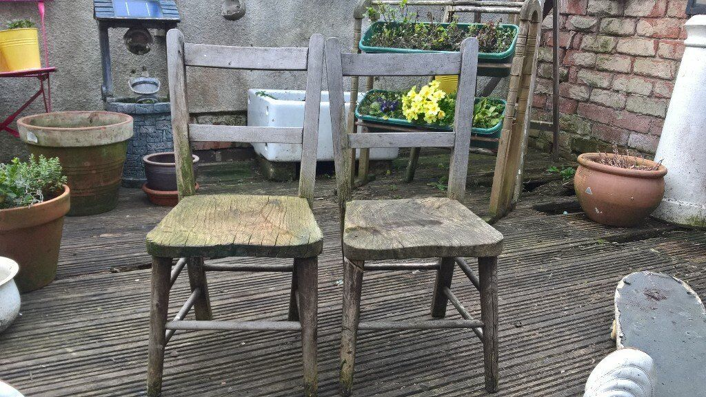 2 old school chairs  5 002 old school chairs  5 00   in Leicester  Leicestershire   Gumtree. Old Dining Chairs Leicester. Home Design Ideas