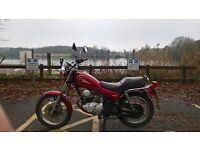 Yamaha SR 125cc Crusier